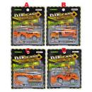 T-809: Metal Die-Cast Toys Construction Truck Series ( Random design ) -- New WH