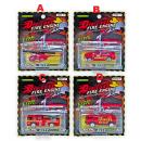 T-810: Metal Die-Cast Toys Fire Engine Series ( Random design ) -- New WH